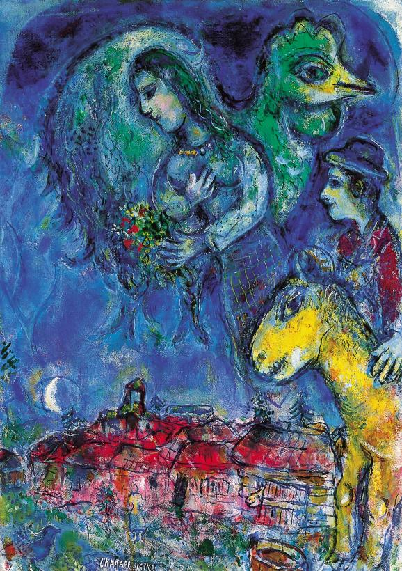Waiting Marc Chagall